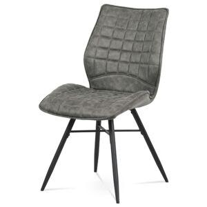 Sconto Jídelní židle AKIRA hnědá