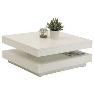 Sconto Konferenční stolek ANDY bílá