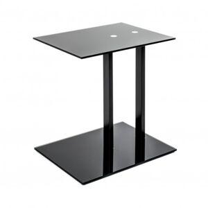 Sconto Přístavný stolek ARON černá