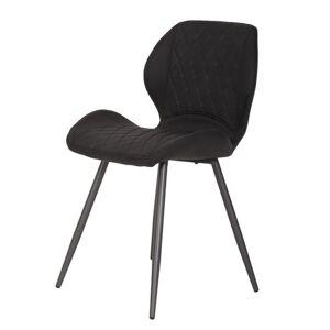 Sconto Jídelní židle AURORA S vintage antracitová