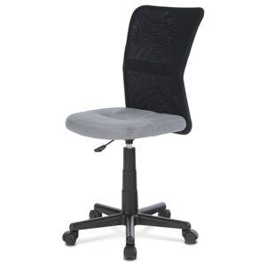 Sconto Kancelářská židle BAMBI šedo/černá