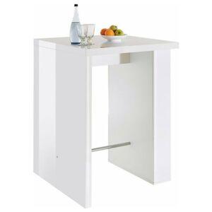 Sconto Barový stůl BAR 2069 bílá
