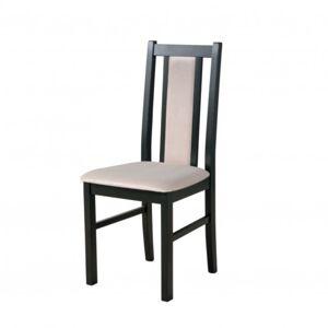 Sconto Jídelní židle BOLS 14 černá/béžová