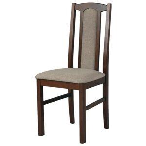 Sconto Jídelní židle BOLS 7 světle hnědá