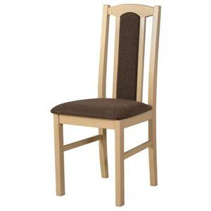 Sconto Jídelní židle BOLS 7 hnědá