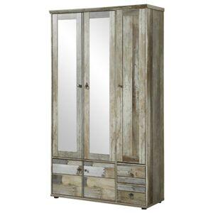 Sconto Předsíňová skříň BONANZA driftwood