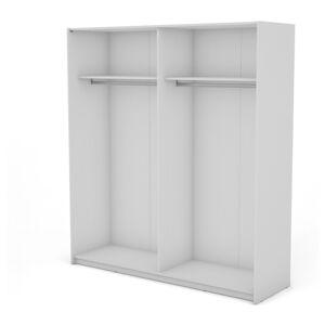 Sconto Korpus skříně BOSTON bílá, šířka 200 cm