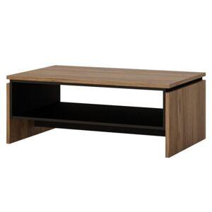 Sconto Konferenční stolek BROLO dub Catania/perleťová černá