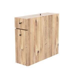 Sconto Koupelnová skříňka CALENCIA dub