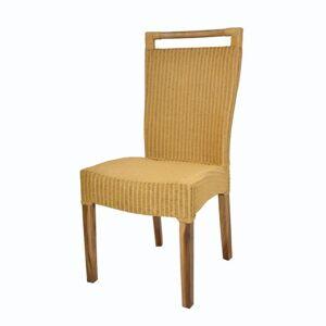 Sconto Židle CALLISTA žluto-hnědá