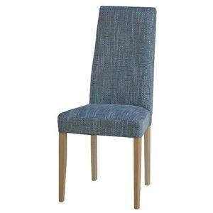Sconto Jídelní židle CAPRICE buk/šedá