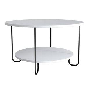 Sconto Konferenční stolek CORRO bílá