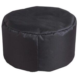 Sconto Sedák DROPS černá