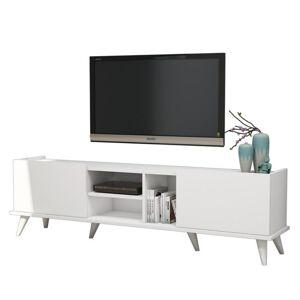 Sconto TV stolek ELEGANTE bílá
