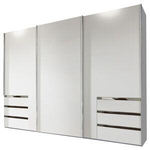 Sconto Šatní skříň ELIOT bílá, 3 dveře