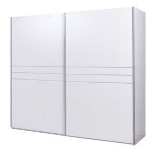 Sconto Šatní skříň ESME bílá