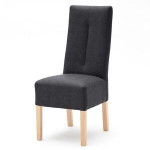Sconto Jídelní židle FABIUS Antracit/dub