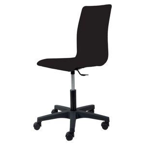 Sconto Kancelářská židle FLEUR černá