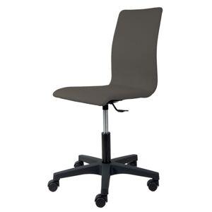 Sconto Kancelářská židle FLEUR antracitová