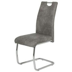 Sconto Jídelní židle FLORA II S šedá