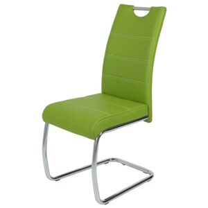 Sconto Jídelní židle FLORA S zelená