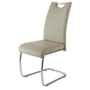 Sconto Jídelní židle FLORA S krémová