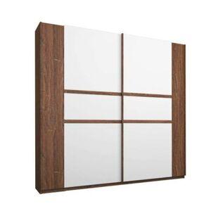 Sconto Šatní skříň GABRIELLE dub stirling/alpská bílá, šířka 226 cm