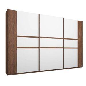 Sconto Šatní skříň GABRIELLE dub stirling/alpská bílá, šířka 271 cm