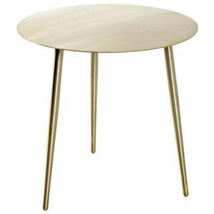 Sconto Přístavný stolek GOLDEX 2 zlatá