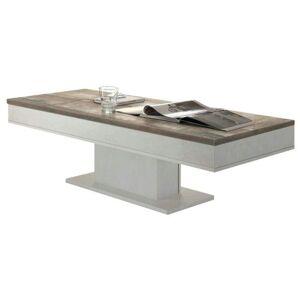Sconto Konferenční stolek GRANNY 120 DUB dub bílý/dub vintage