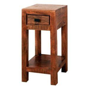 Sconto Přístavný stolek GURU FOREST akácie