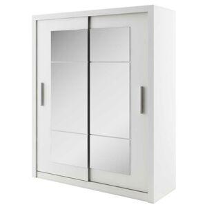 Sconto Šatní skříň IDEA matná bílá