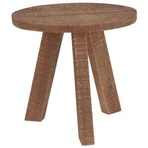 Sconto Stoleček J11300990 teakové dřevo