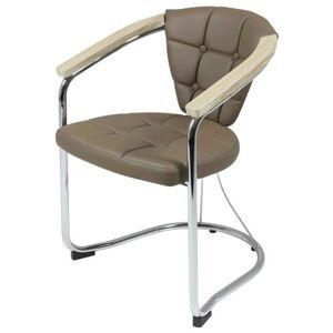 Sconto Židle KEN cappuccino