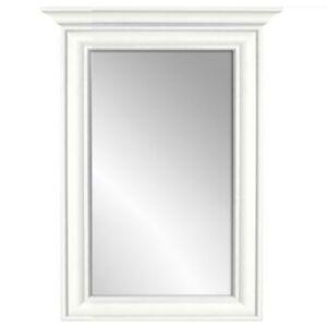Sconto Zrcadlo KORDULA bílá