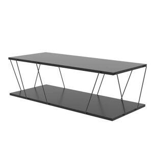 Sconto Konferenční stolek LABRANDA antracit/černá