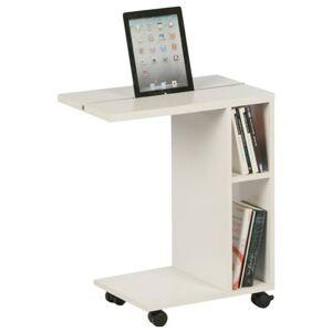 Sconto Přístavný stolek LATINO WT bílá