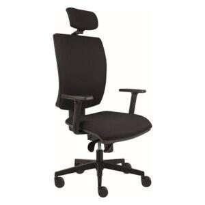 Sconto Kancelářská židle LAUREN černá