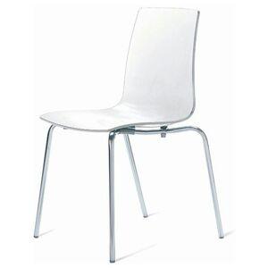 Sconto Jídelní židle LOLLIPOP bílá