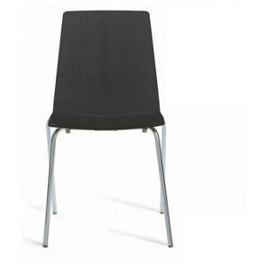 Sconto Jídelní židle LOLLIPOP černá
