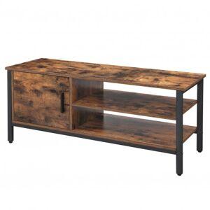 Sconto TV stolek LOUI černá/hnědá
