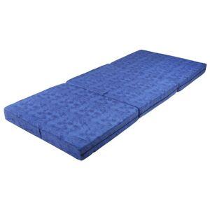 Sconto Skládací matrace MARMOR modrá