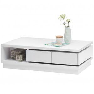 Sconto Konferenční stolek MIAMI bílá