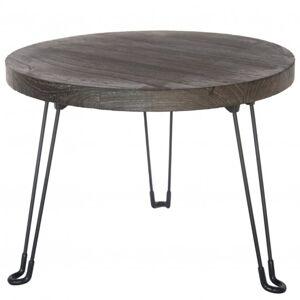 Sconto Odkládací stolek NAMUS 2 pavlovnie/šedá