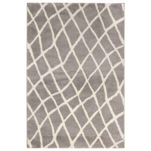 Sconto Koberec NANO SHAG 4 šedá, 133x190 cm