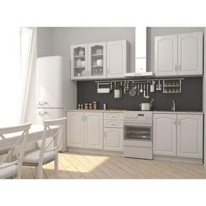 Sconto Kuchyňská sestava NIKA 200 cm, bílá