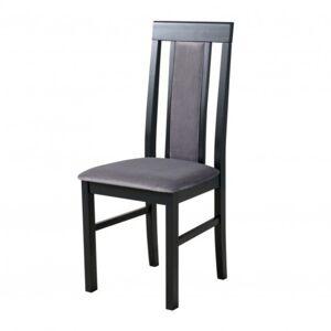 Sconto Jídelní židle NILA 2 šedá/černá