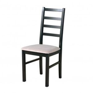 Sconto Jídelní židle NILA 8 černá/béžová
