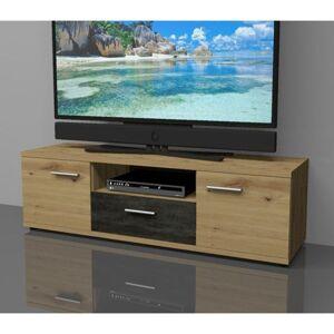 Sconto TV komoda NINA dub artisan, výška 39 cm