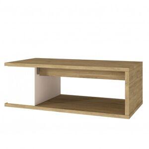 Sconto Konferenční stolek OTAWA dub/bílá